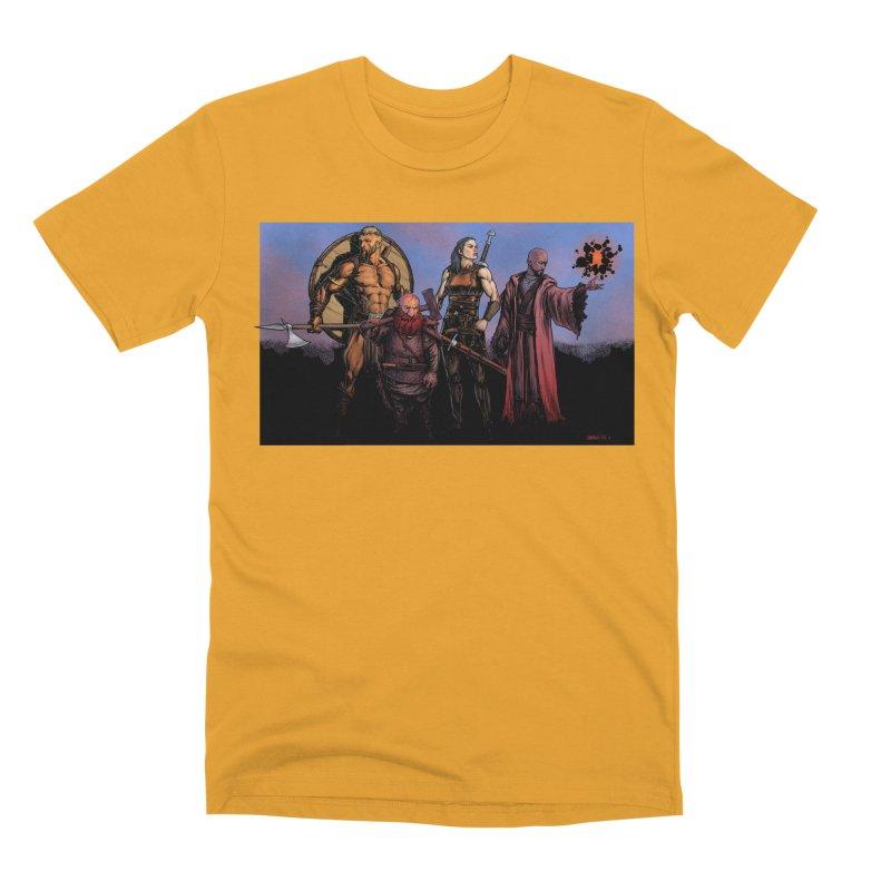 Adventurers Men's Premium T-Shirt by Ambrose H.H.'s Artist Shop