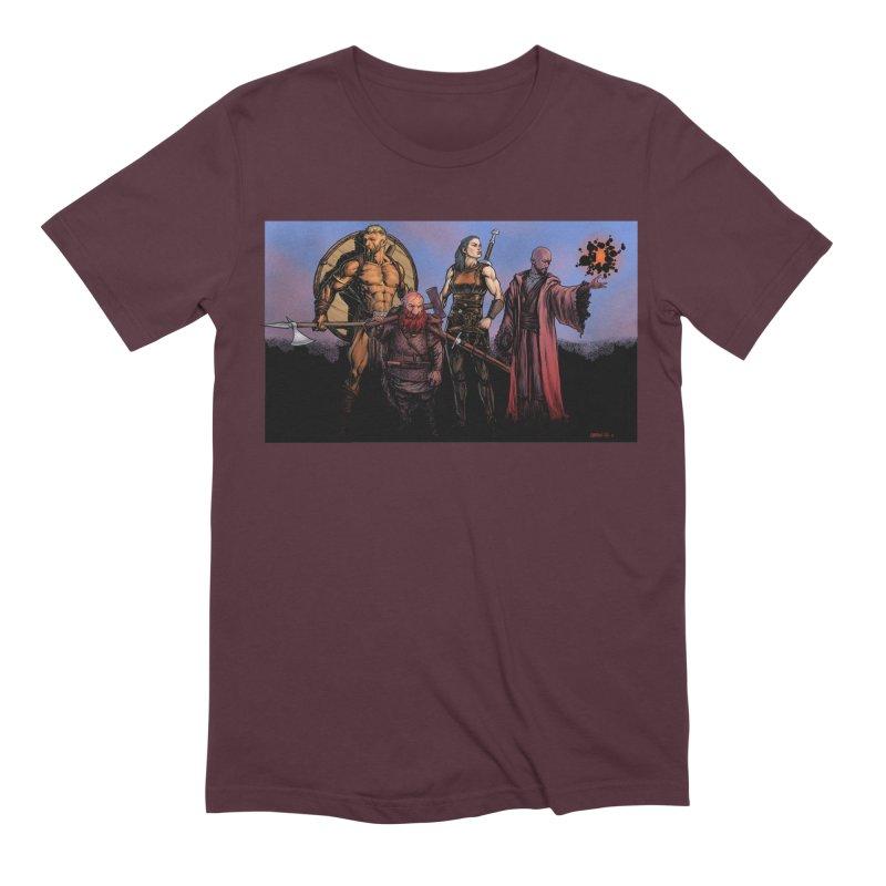 Adventurers Men's Extra Soft T-Shirt by Ambrose H.H.'s Artist Shop