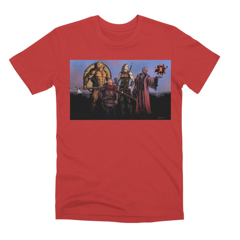 Adventurers Men's T-Shirt by Ambrose H.H.'s Artist Shop