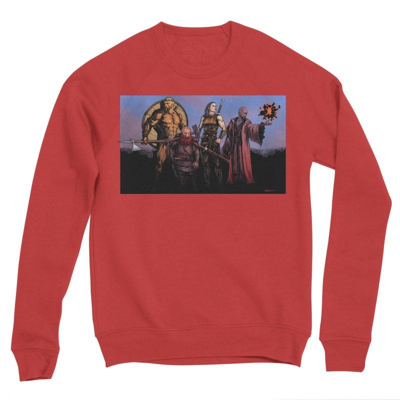 Adventurers Women's Sponge Fleece Sweatshirt by Ambrose H.H.'s Artist Shop