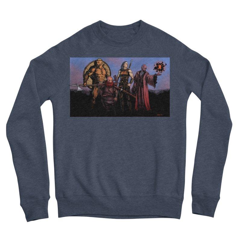Adventurers Men's Sponge Fleece Sweatshirt by Ambrose H.H.'s Artist Shop