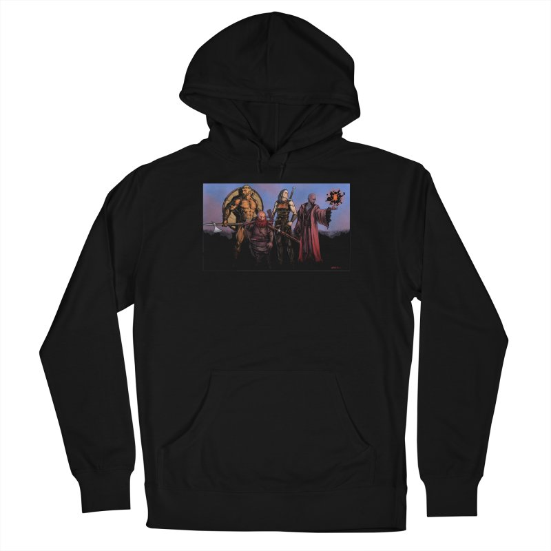 Adventurers Women's French Terry Pullover Hoody by Ambrose H.H.'s Artist Shop
