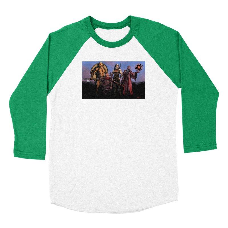 Adventurers Men's Baseball Triblend Longsleeve T-Shirt by Ambrose H.H.'s Artist Shop