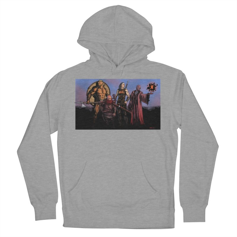 Adventurers Men's French Terry Pullover Hoody by Ambrose H.H.'s Artist Shop