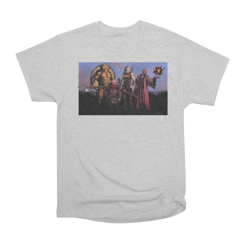 Adventurers Women's Heavyweight Unisex T-Shirt by Ambrose H.H.'s Artist Shop