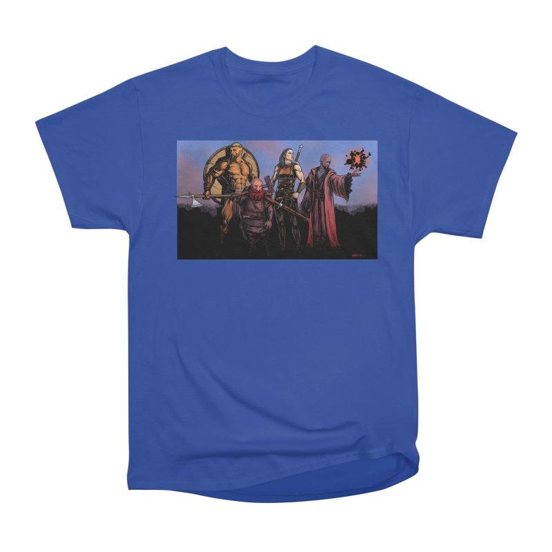 Adventurers Men's Heavyweight T-Shirt by Ambrose H.H.'s Artist Shop