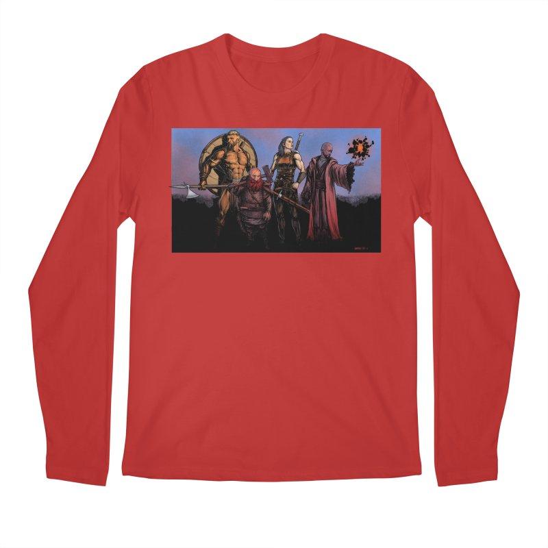 Adventurers Men's Regular Longsleeve T-Shirt by Ambrose H.H.'s Artist Shop