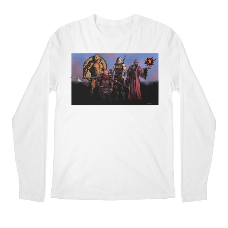 Adventurers Men's Longsleeve T-Shirt by Ambrose H.H.'s Artist Shop