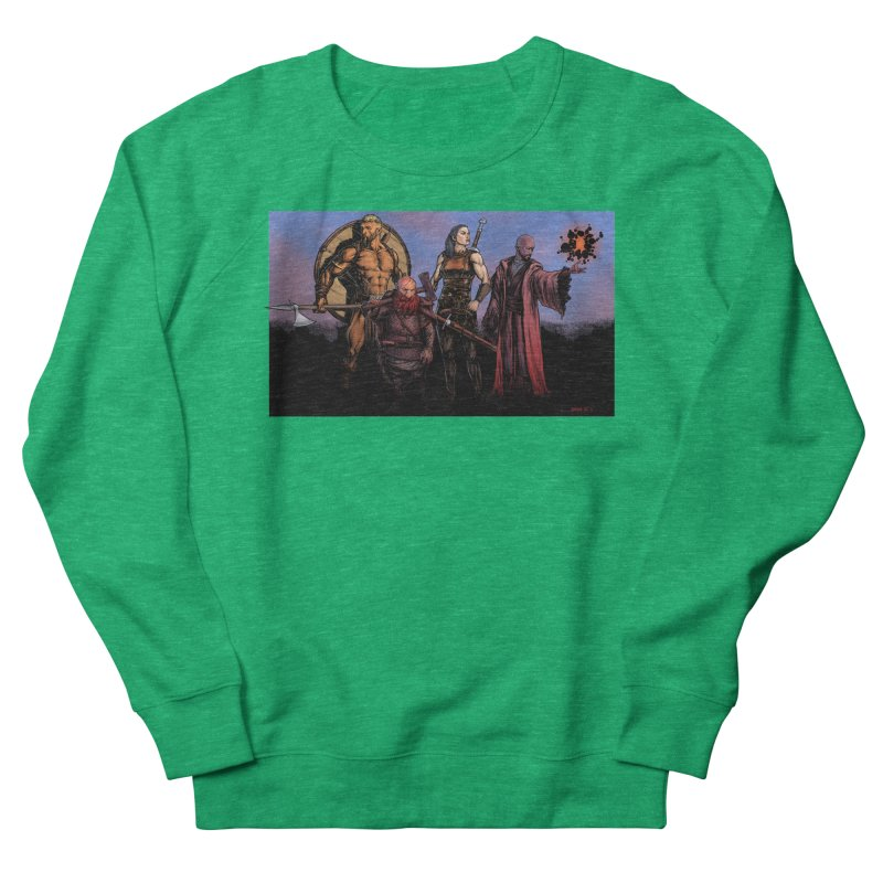 Adventurers Women's Sweatshirt by Ambrose H.H.'s Artist Shop