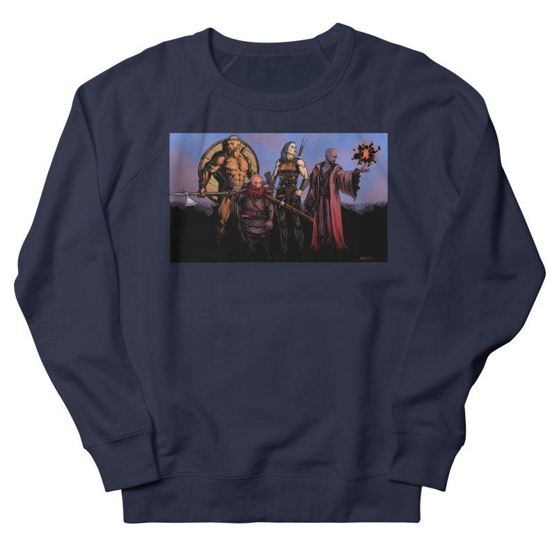 Adventurers Women's French Terry Sweatshirt by Ambrose H.H.'s Artist Shop