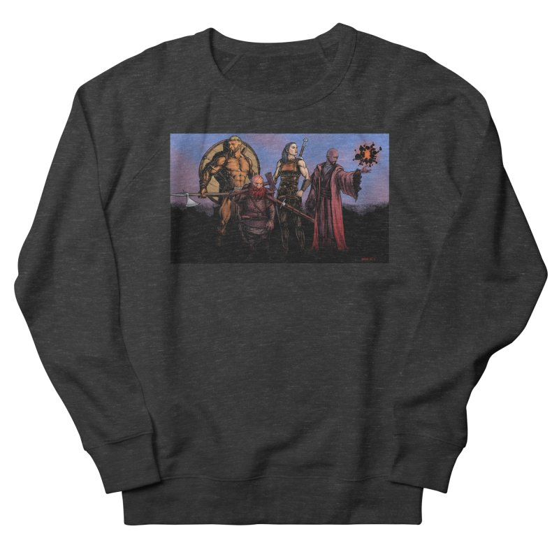 Adventurers Men's Sweatshirt by Ambrose H.H.'s Artist Shop