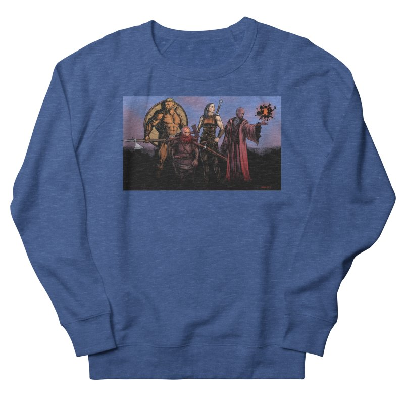 Adventurers Men's Sweatshirt by Ambrose H.H.'s Artist Shop