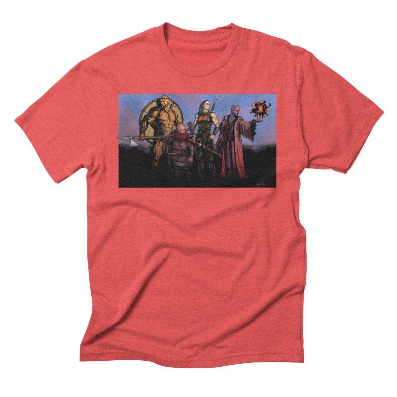 Adventurers Men's Triblend T-Shirt by Ambrose H.H.'s Artist Shop