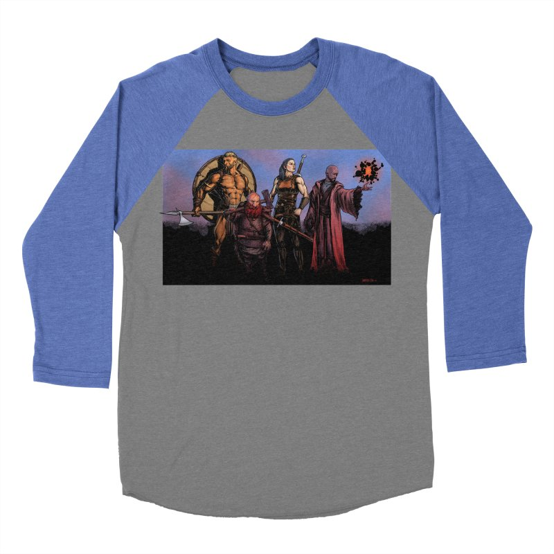 Adventurers Women's Baseball Triblend Longsleeve T-Shirt by Ambrose H.H.'s Artist Shop