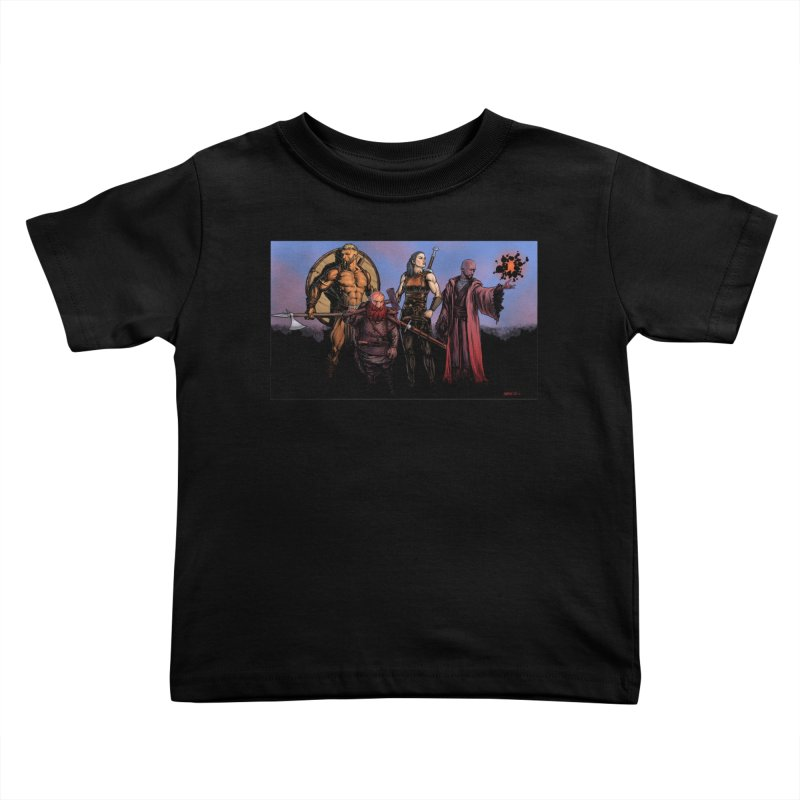 Adventurers Kids Toddler T-Shirt by Ambrose H.H.'s Artist Shop