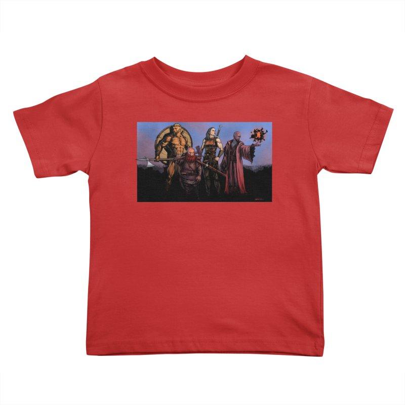 Adventurers Kids Toddler T-Shirt by Ambrose H.H.'s Artist Shop