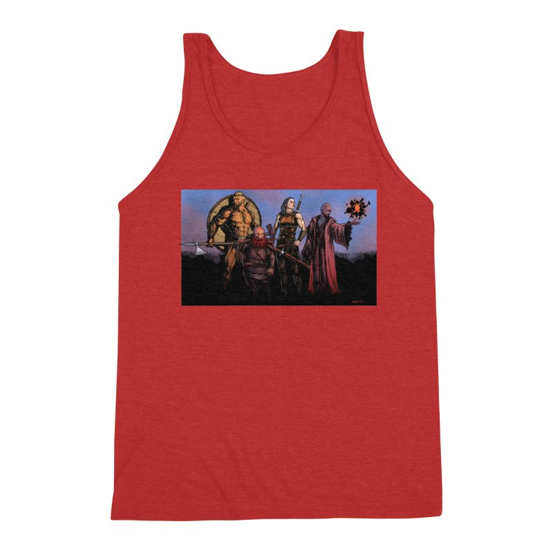 Adventurers Men's Triblend Tank by Ambrose H.H.'s Artist Shop