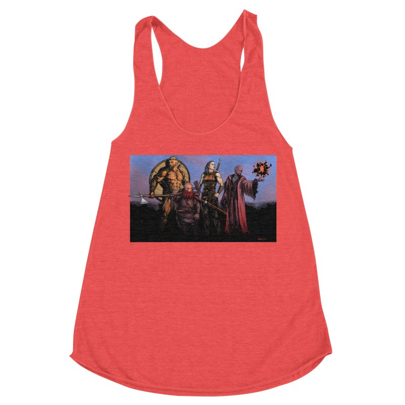 Adventurers Women's Tank by Ambrose H.H.'s Artist Shop