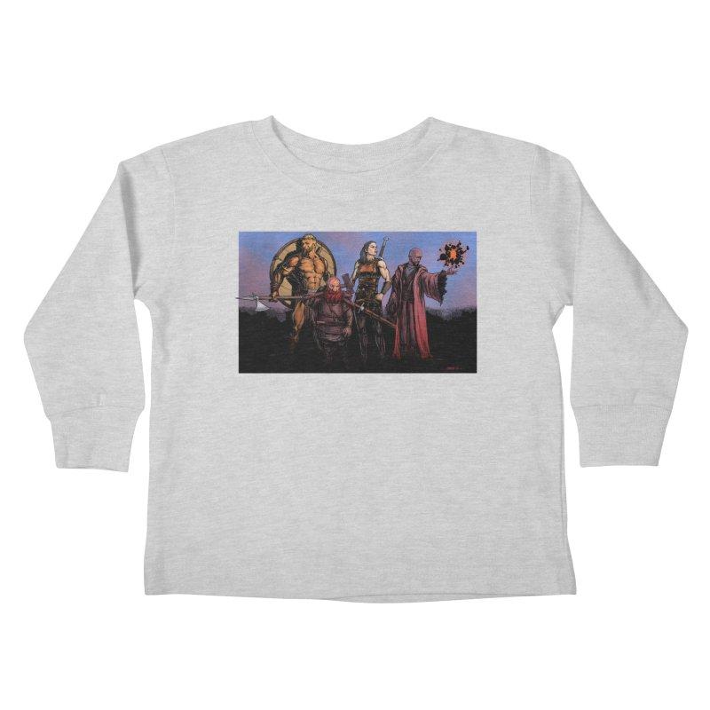Adventurers Kids Toddler Longsleeve T-Shirt by Ambrose H.H.'s Artist Shop