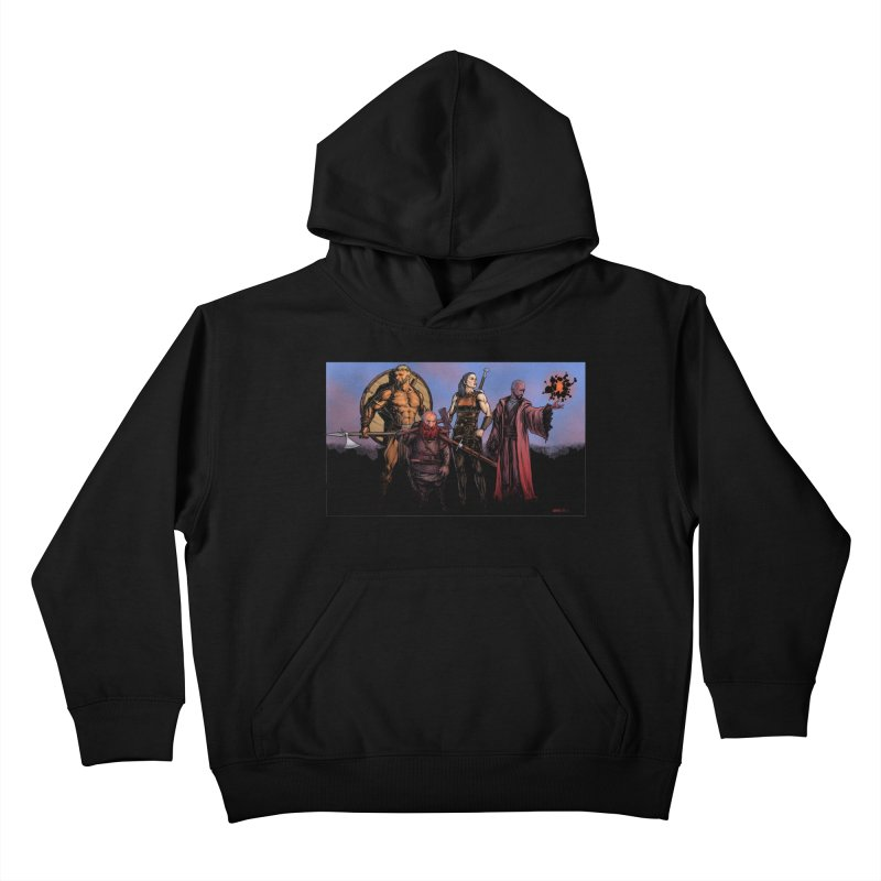 Adventurers Kids Pullover Hoody by Ambrose H.H.'s Artist Shop