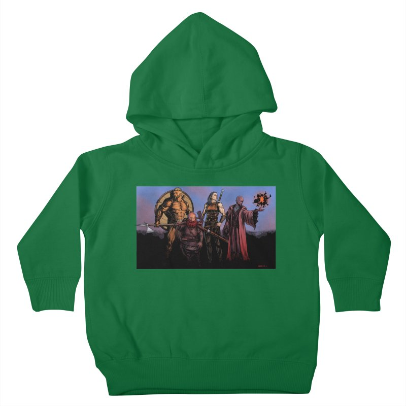 Adventurers Kids Toddler Pullover Hoody by Ambrose H.H.'s Artist Shop