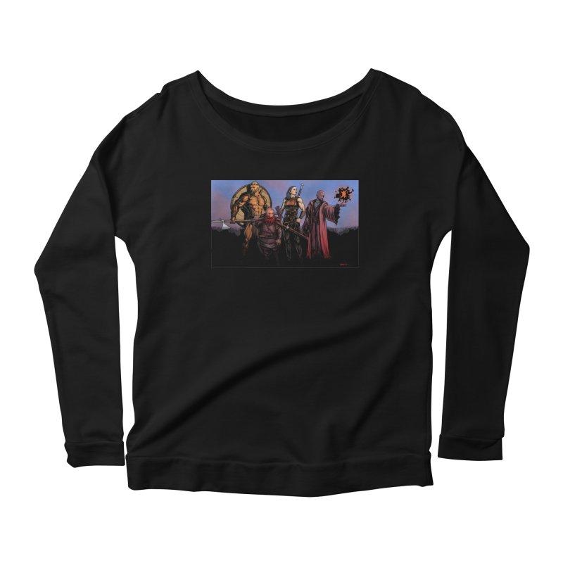 Adventurers Women's Scoop Neck Longsleeve T-Shirt by Ambrose H.H.'s Artist Shop