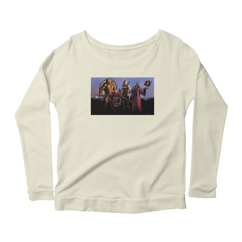 Adventurers Women's Scoop Neck Longsleeve T-Shirt by Ambrose H.H.'s Artist Shop
