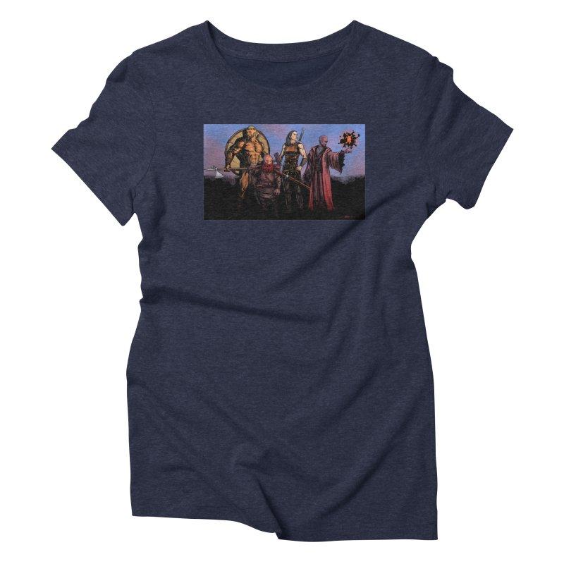 Adventurers Women's Triblend T-Shirt by Ambrose H.H.'s Artist Shop
