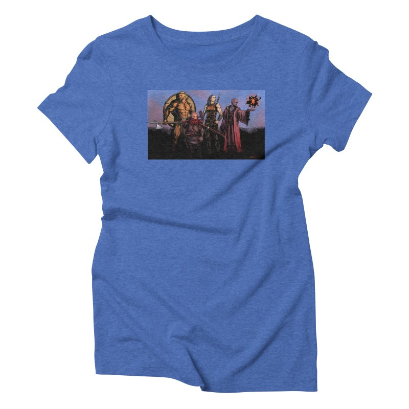 Adventurers Women's T-Shirt by Ambrose H.H.'s Artist Shop