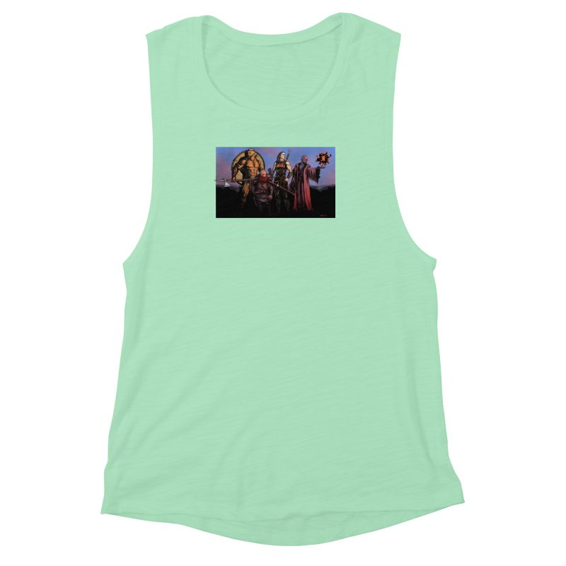 Adventurers Women's Muscle Tank by Ambrose H.H.'s Artist Shop