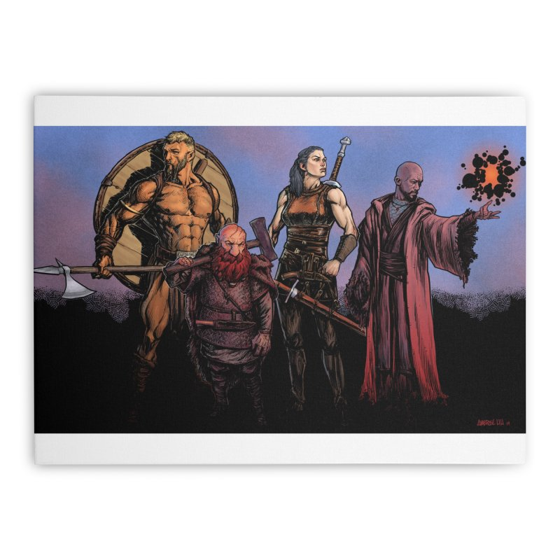 Adventurers Home Stretched Canvas by Ambrose H.H.'s Artist Shop