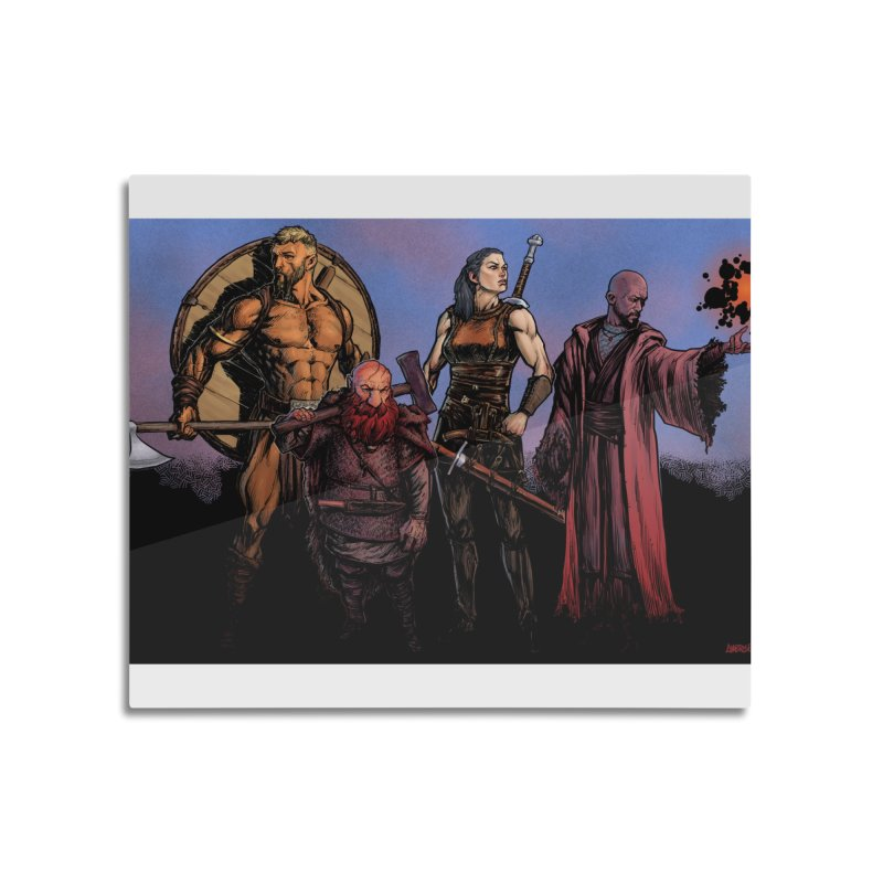 Adventurers Home Mounted Acrylic Print by Ambrose H.H.'s Artist Shop