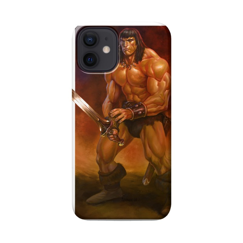 The Barbarian Accessories Phone Case by Ambrose H.H.'s Artist Shop