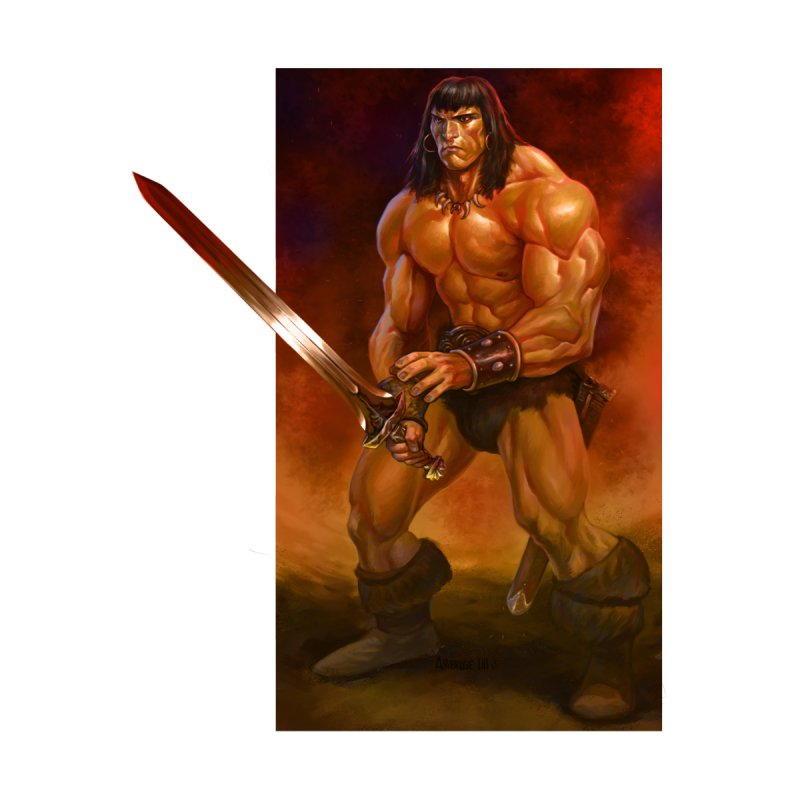 The Barbarian Home Stretched Canvas by Ambrose H.H.'s Artist Shop