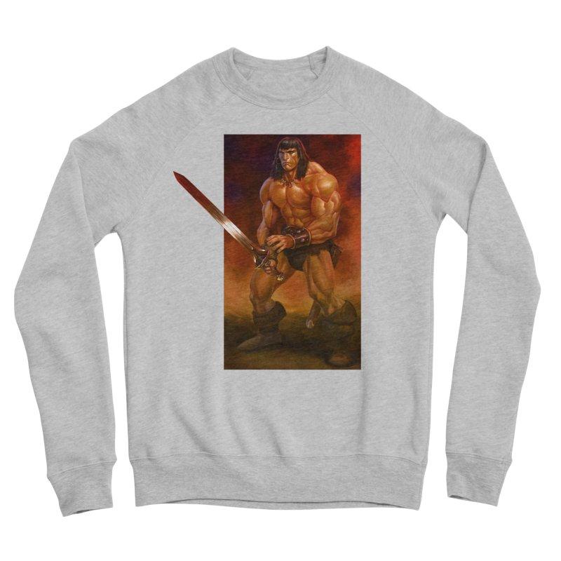 The Barbarian Men's Sweatshirt by Ambrose H.H.'s Artist Shop