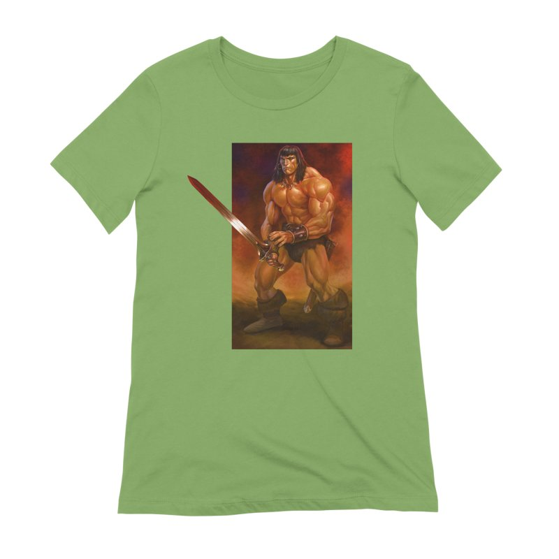 The Barbarian Women's Extra Soft T-Shirt by Ambrose H.H.'s Artist Shop