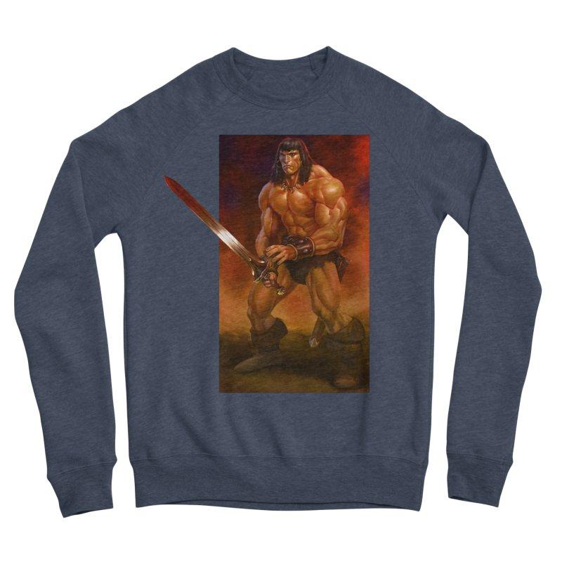 The Barbarian Men's Sponge Fleece Sweatshirt by Ambrose H.H.'s Artist Shop