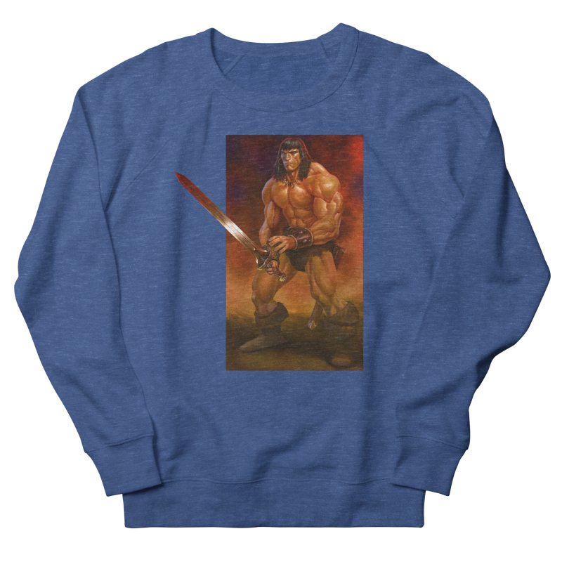 The Barbarian Men's Sweatshirt by Ambrose H.H.'s Artist Shop