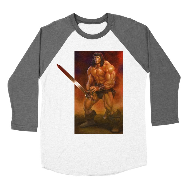 The Barbarian Women's Longsleeve T-Shirt by Ambrose H.H.'s Artist Shop