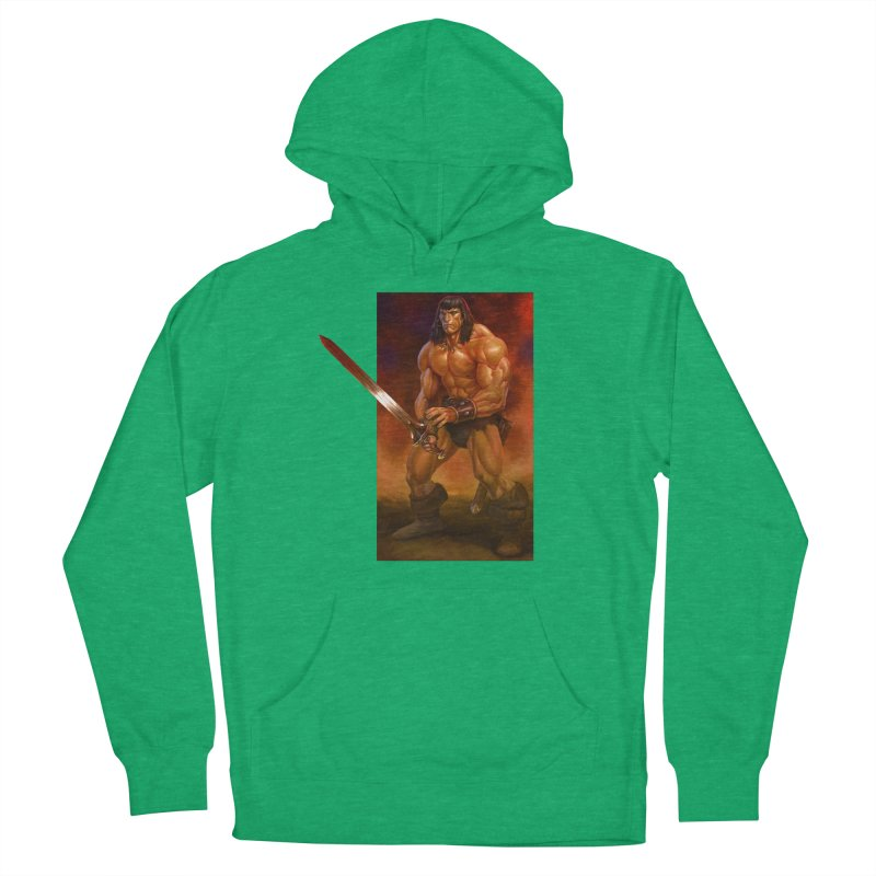 The Barbarian Men's Pullover Hoody by Ambrose H.H.'s Artist Shop