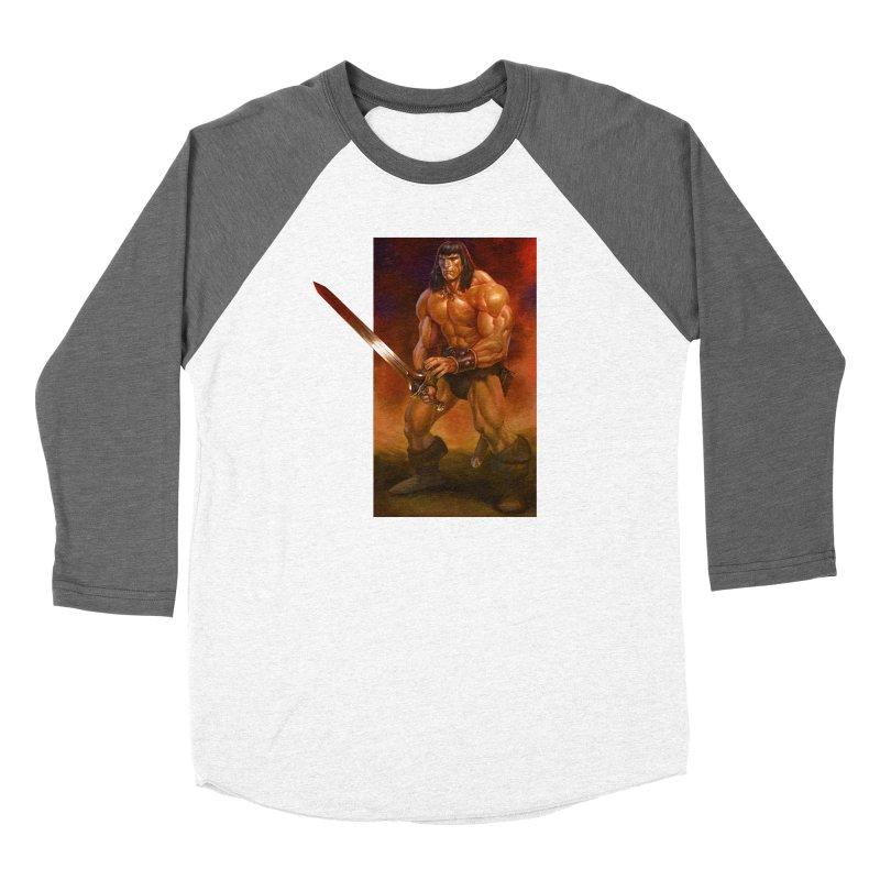 The Barbarian Women's Longsleeve T-Shirt by Ambrose H.H.'s Artist Shop