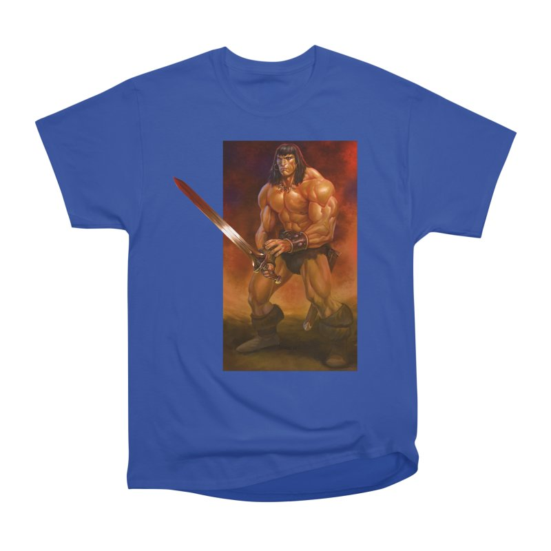 The Barbarian Men's Heavyweight T-Shirt by Ambrose H.H.'s Artist Shop