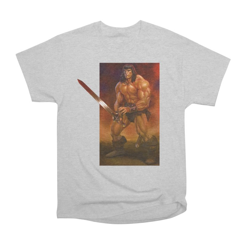The Barbarian Men's T-Shirt by Ambrose H.H.'s Artist Shop