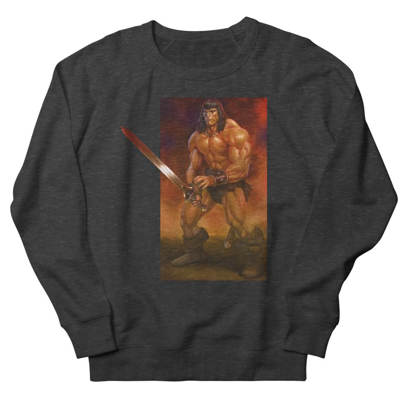 The Barbarian Women's French Terry Sweatshirt by Ambrose H.H.'s Artist Shop