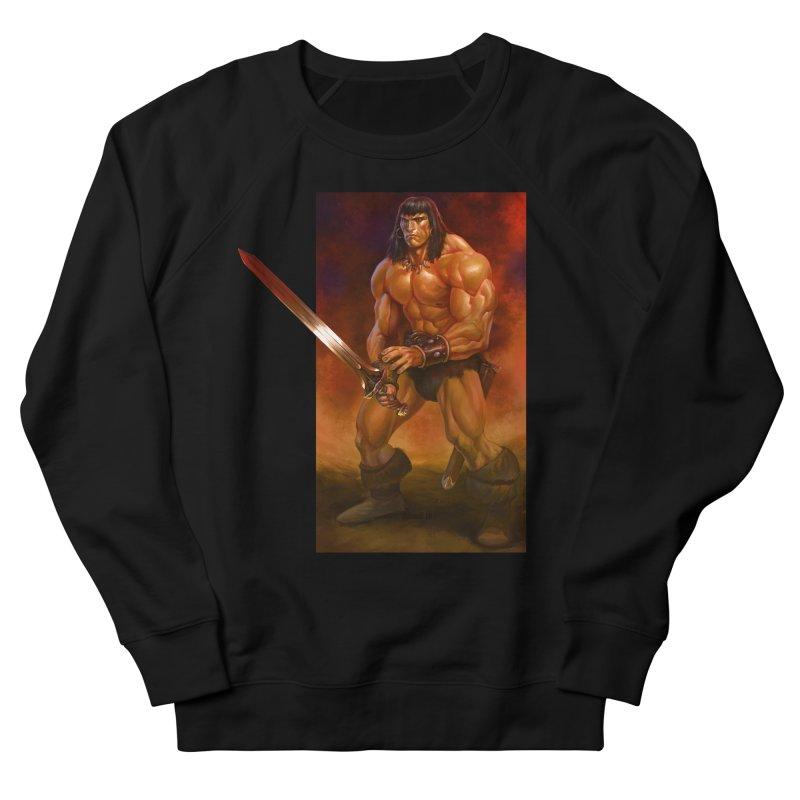 The Barbarian Women's Sweatshirt by Ambrose H.H.'s Artist Shop