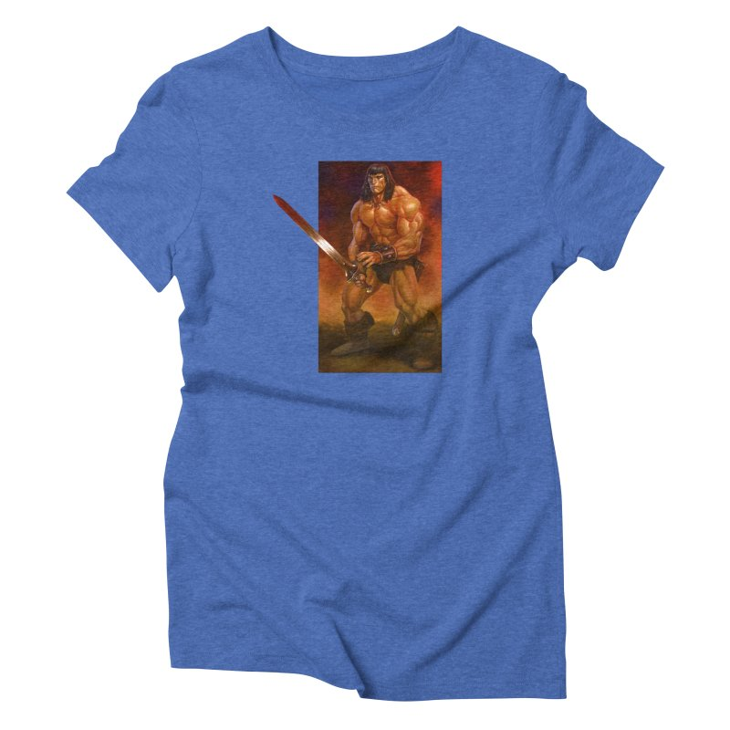 The Barbarian Women's T-Shirt by Ambrose H.H.'s Artist Shop