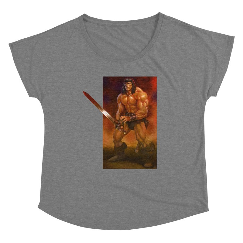 The Barbarian Women's Scoop Neck by Ambrose H.H.'s Artist Shop