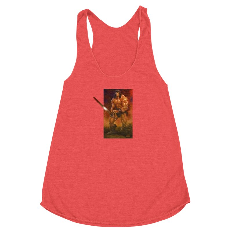 The Barbarian Women's Tank by Ambrose H.H.'s Artist Shop