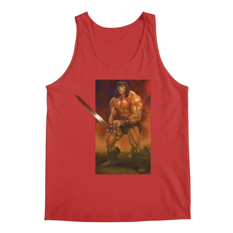 The Barbarian Men's Regular Tank by Ambrose H.H.'s Artist Shop