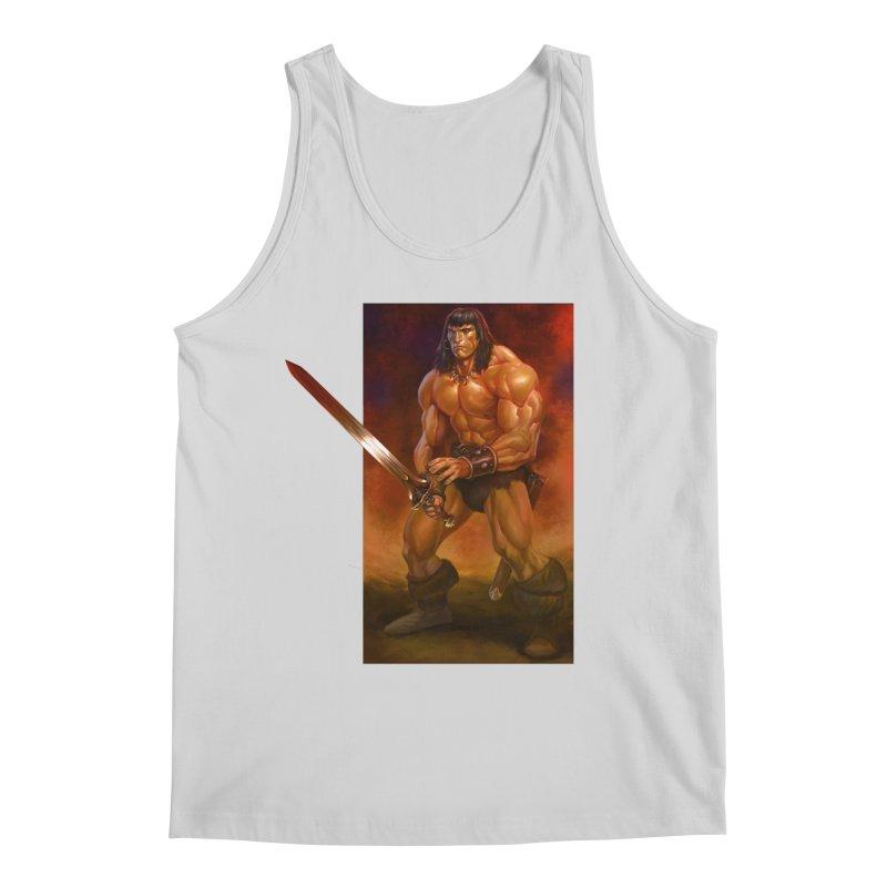 The Barbarian Men's Regular Tank by Ambrose H.H.'s Artist Shop